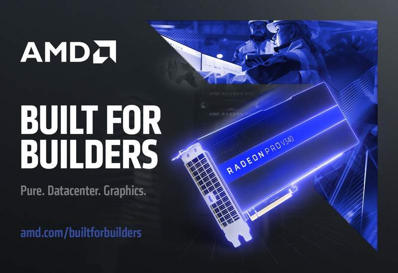 AMD Introduces the Radeon Pro V340 Graphics Card
