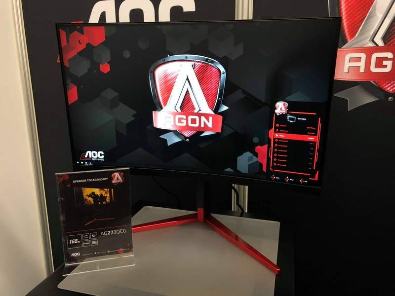 AOC Unveils Latest High-Performance Gaming Monitors at Gamescom 2018