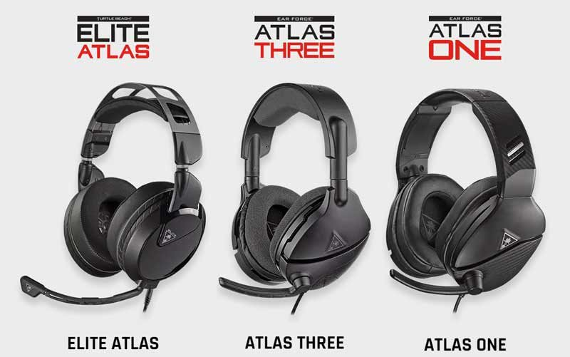 Turtle Beach Releases the Atlas Series PC Gaming Headsets