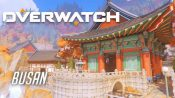 Blizzard Announces New 'Busan' Control Map for Overwatch