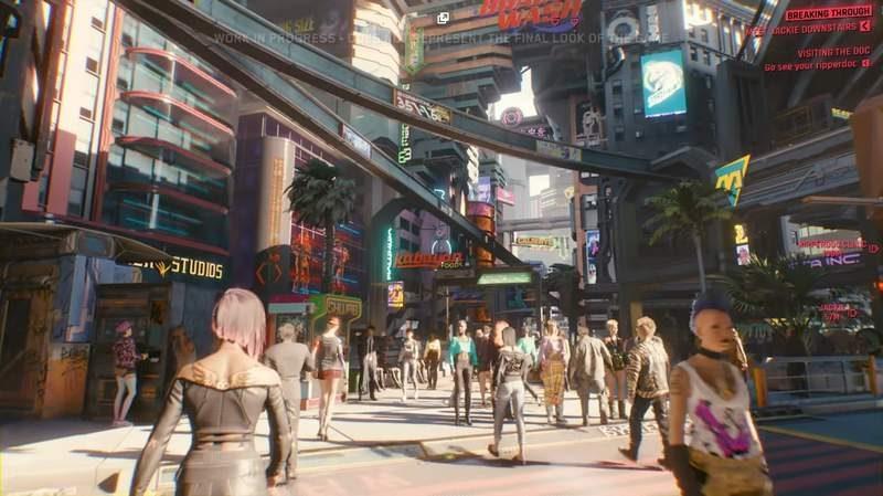 Watch 48-Minutes of Cyberpunk 2077 Gameplay Walkthrough