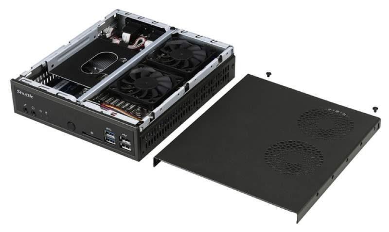 Shuttle Announces the XPC Barebone DH310 Mini-PC