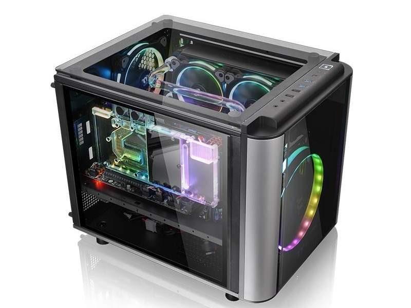 Thermaltake Level 20 VT Micro-ATX Case Now Available