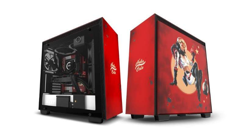 NZXT Announces Limited Edition Nuka-Cola Themed H700 Case
