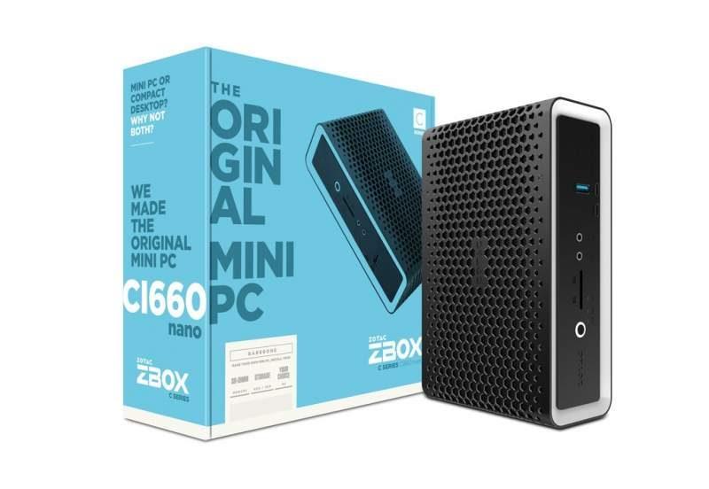 Zotac Announces Passively-Cooled ZBOX C Series Mini-PCs