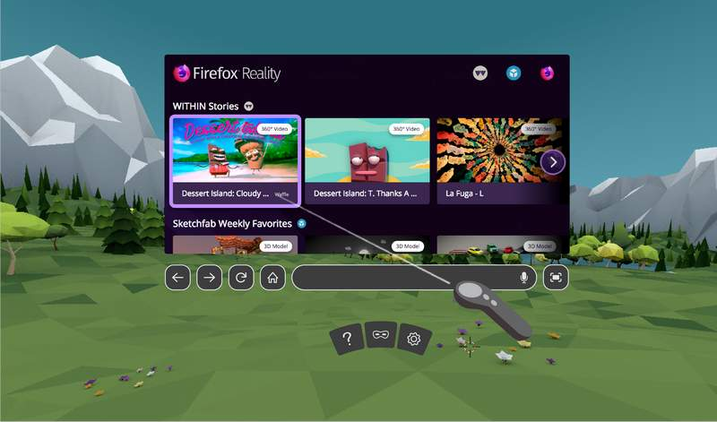 """Mozilla Launches """"Firefox Reality"""" VR Web Browser"""