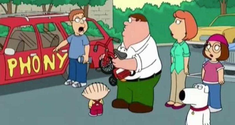 family guy phony funny