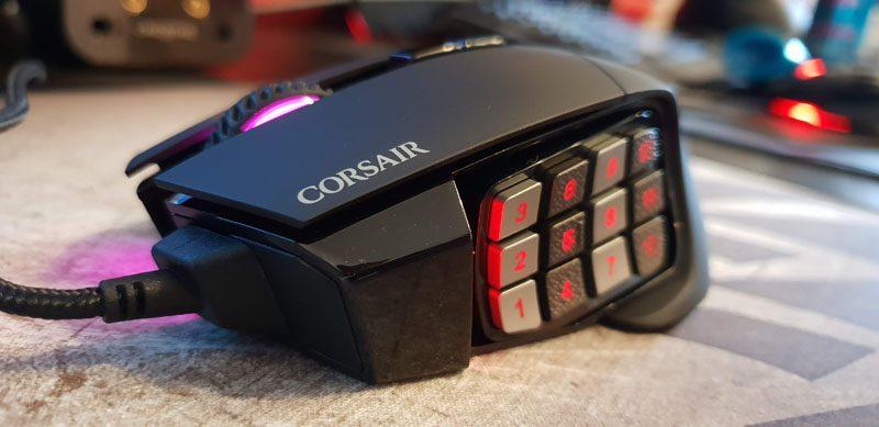 Corsair Scimitar Pro RGB MOBA/MMO Gaming Mouse Review