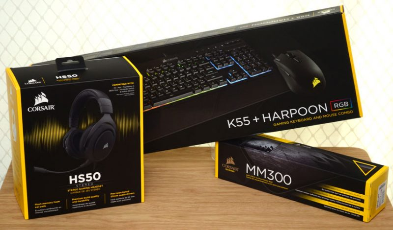 Corsair Peripherals for around £150 - But Are They Any Good?