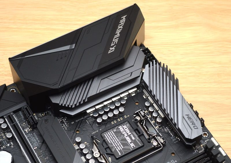 ASUS RoG Maximus XI Hero WiFi Z390 Preview