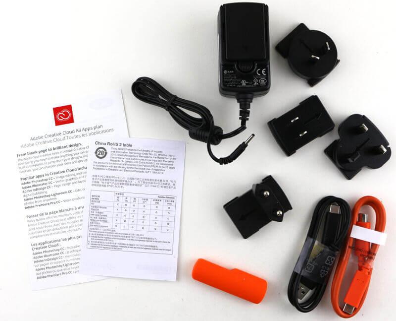 LaCie Rugged RAID Pro 4TB Photo box content 2