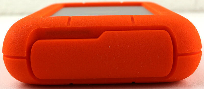 LaCie Rugged RAID Pro 4TB Photo view connector closed