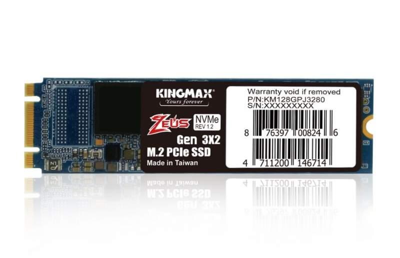 KINGMAX Announces the Entry-level PJ3280 M.2 PCIe SSD