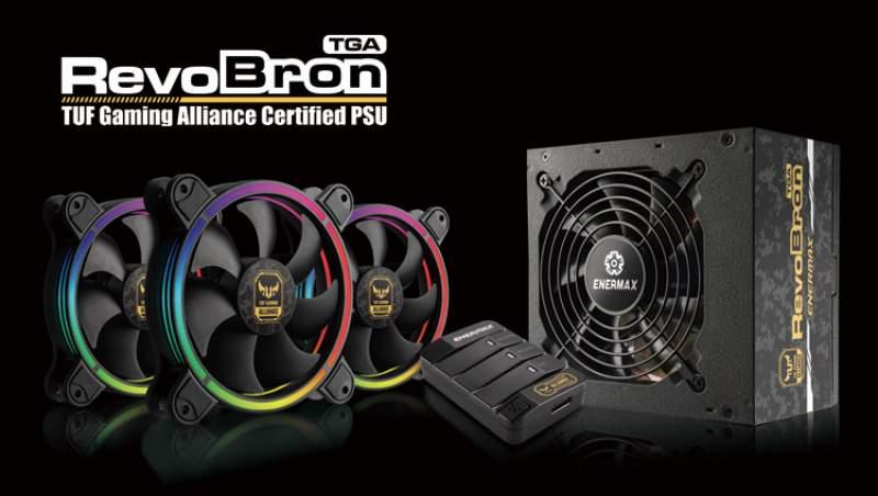 ENERMAX RevoBron TGA Power Supplies Now Available