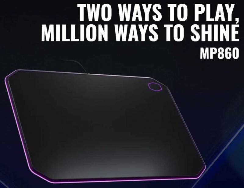 Cooler Master MP860 RGB Dual-Sided Mouse Mat Review