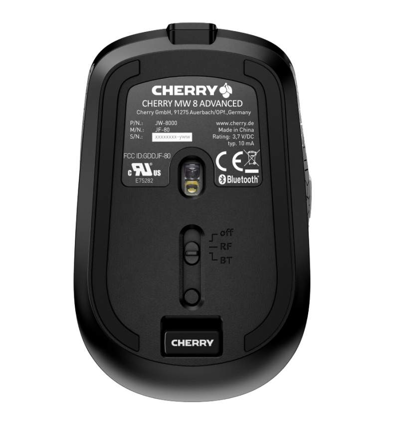 Cherry Announces the MW8 Advanced Wireless Mouse