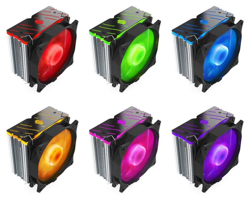 SilentiumPC Ferra 3 RGB CPU Cooler Announced