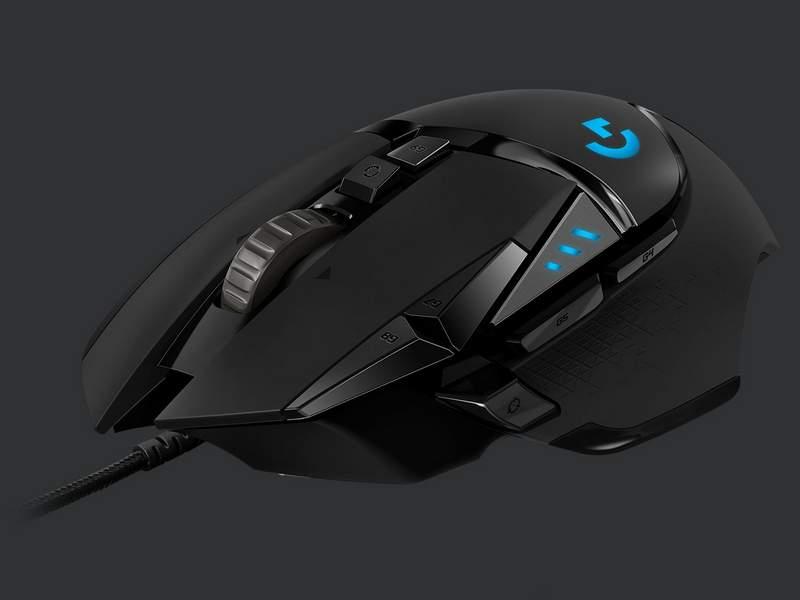 Logitech Releases New G502 HERO Mouse for 2018