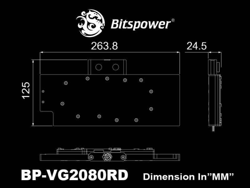 Bitspower Announces the Lotan Series Blocks for NVIDIA RTX