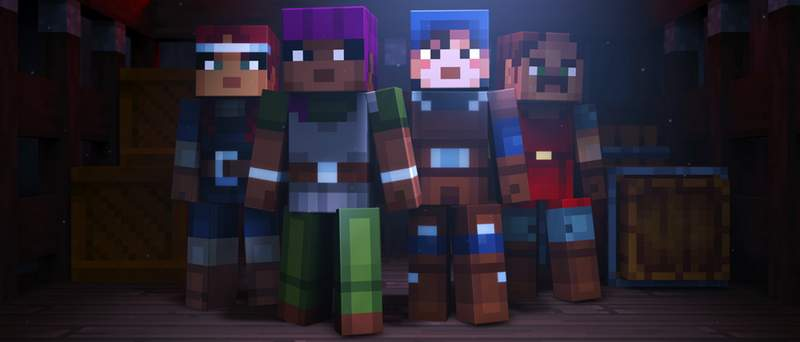 Mojang is Developing a Minecraft Dungeon-Crawler Spin-off