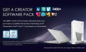 MSI Offers $400 Free Creator Software with Hardware Purchase