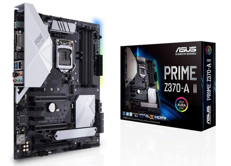 Three Revised Z370 Motherboards Show Up on ASUS' Website