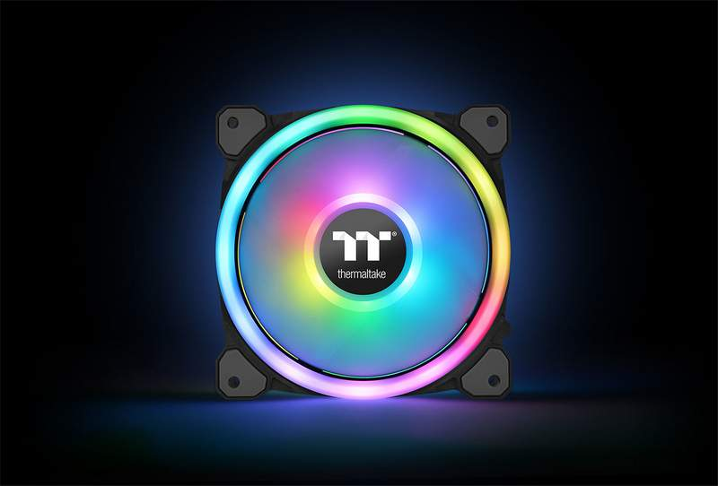 Thermaltake New Riing Trio 14 RGB Fans Now Available