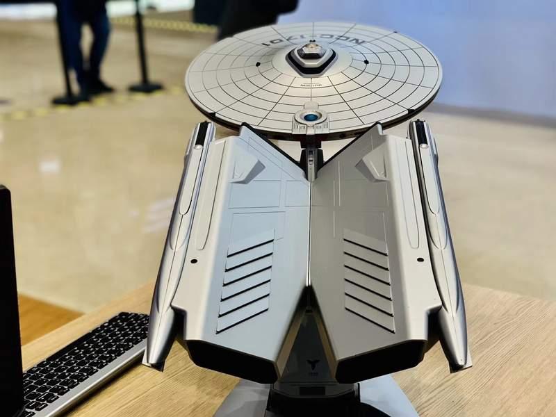 Lenovo Unveils the Titanium Enterprise NCC-1701A Star Trek PC