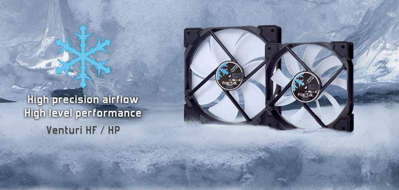 Fractal Design Expands Venturi and Dynamic X2 Fan Series