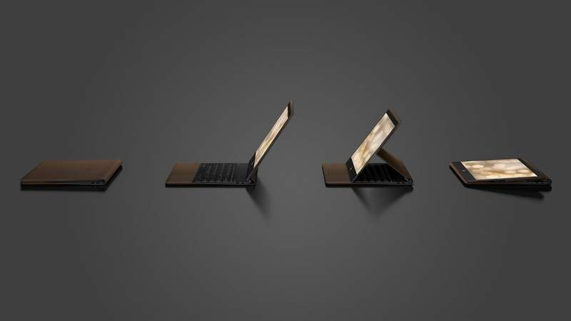 HP Introduces Leather-Bound Spectre Folio 2-in-1 Notebook