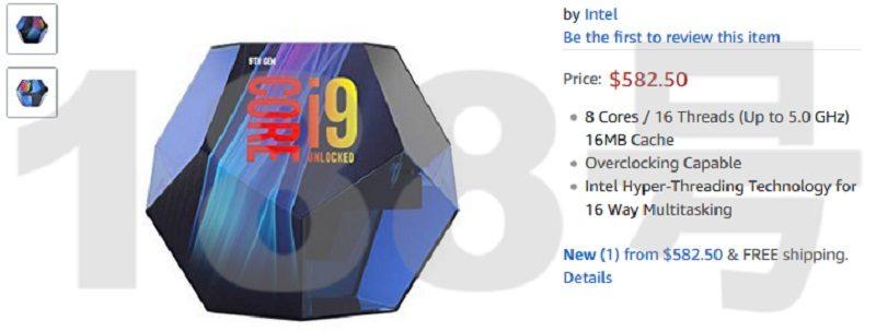 Intel Core i9 9900K Package