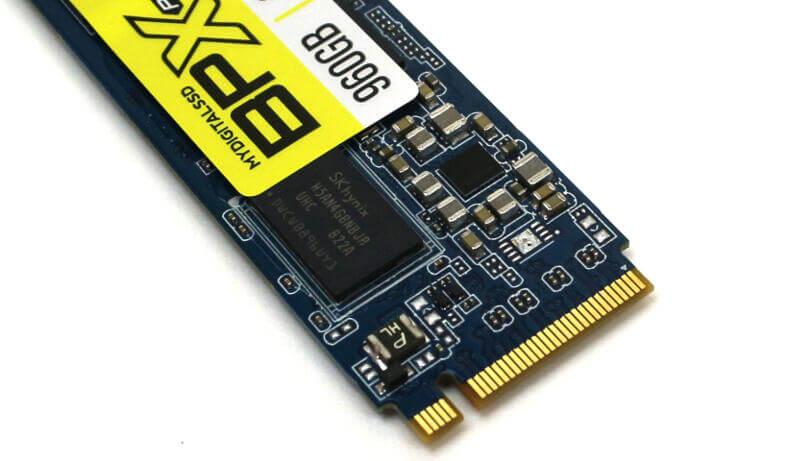 MyDigitalSSD BPX Pro 1TB Photo view connector