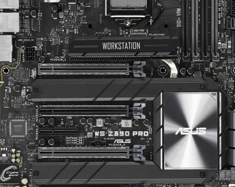 ASUS WS Pro Z390 Motherboard Review