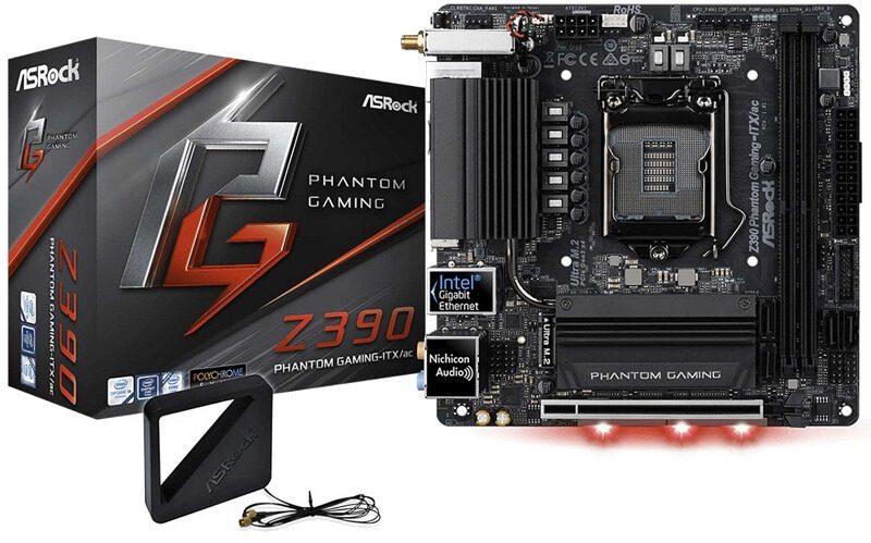 ASRock Phantom Gaming-ITX/AC Z390 Motherboard Review
