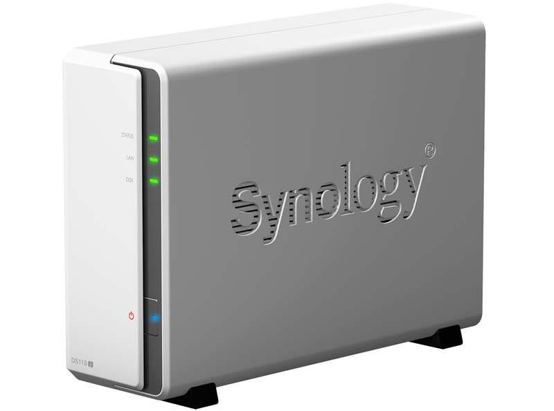 Synology DS119j Angle