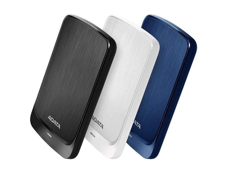 ADATA Launches Slim HV320 USB 3.1 External Drives