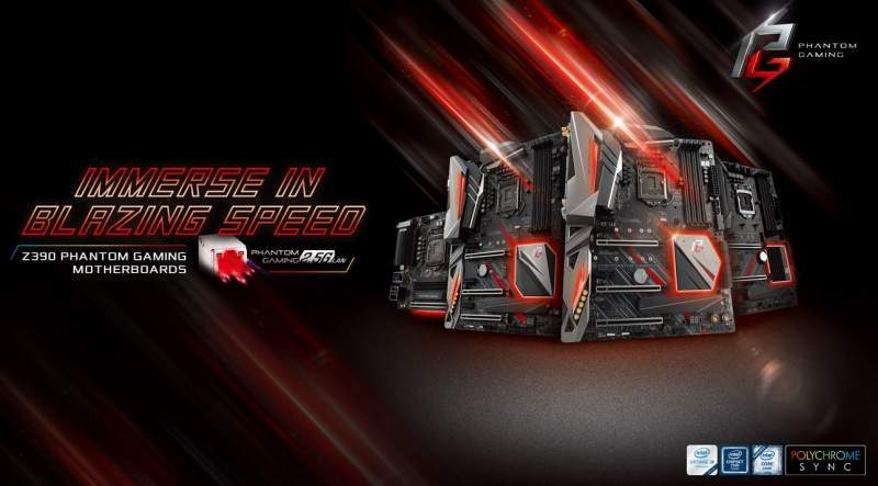 ASRock Launches the Z390 Phantom Gaming Mainboard Family