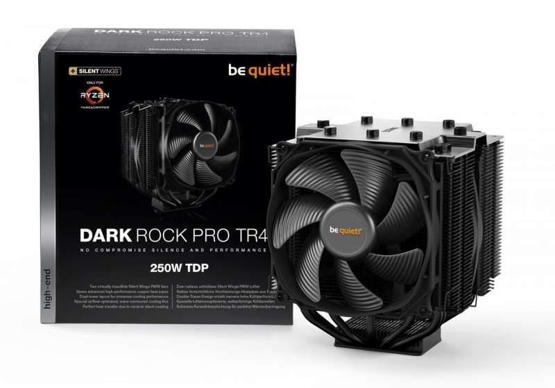 be quiet! Launches Dark Rock Pro TR4 for Threadripper CPUs