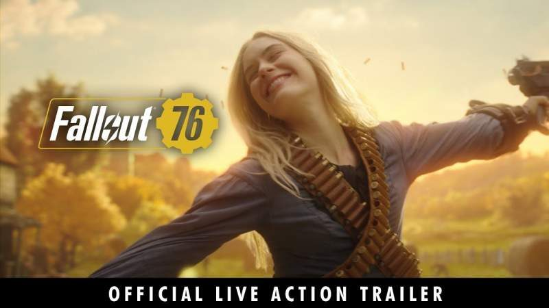 Bethesda Fills New Fallout 76 Live Action Trailer with Good Vibes