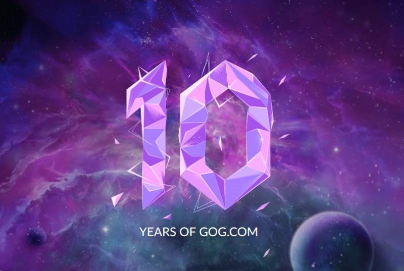 GOG Celebrates 10 Years with a Free Game Giveaway