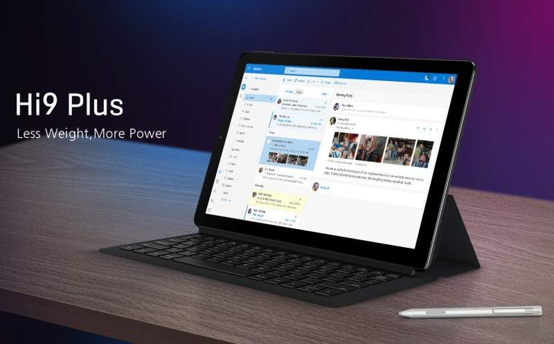 Chuwi Launches the Hi9 Plus 2-in-1 Android Tablet PC