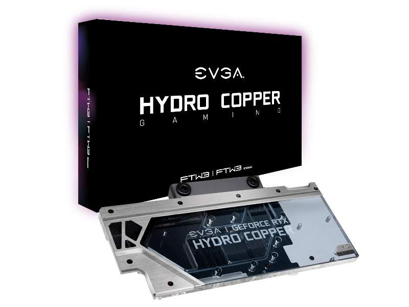 EVGA RTX 20-Series Hydro Copper Water Blocks Now Available