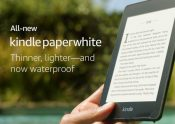 Amazon Launches New IPX8 Water-Proof Kindle Paperwhite