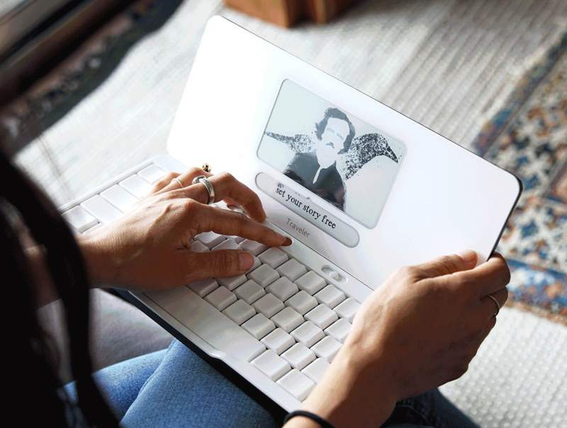 """Distraction-Free Traveler """"Laptop"""" is Perfect for Writers"""