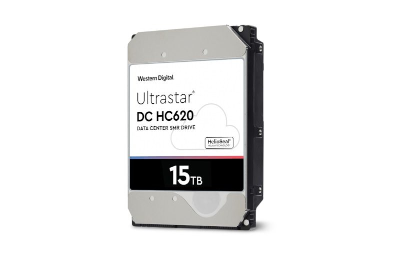 Western Digital Debuts the 15TB Ultrastar DC HC720 SMR HDD