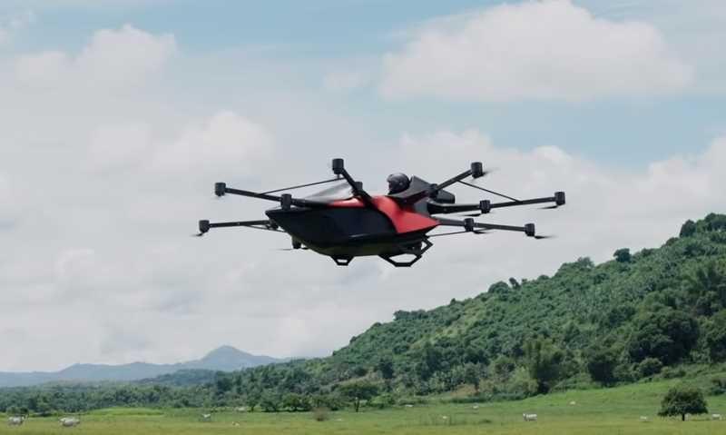 drone flying car