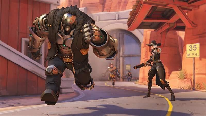 Overwatch's Latest Hero is a Shotgun Wielding Outlaw