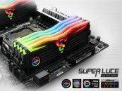GeIL Expands SUPER LUCE RGB Sync DDR4 Memory Lineup