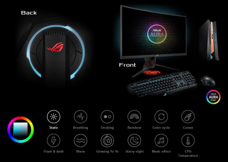 ASUS Launches the ROG Strix XG32VQR Curved HDR Monitor