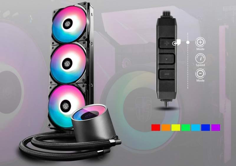 Deepcool Castle 360 RGB AIO CPU Cooler Now Available